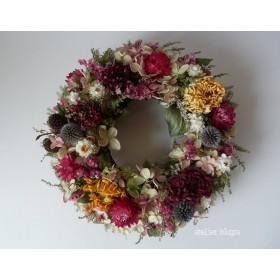 atelier blugra八ヶ岳〜ミナヅキとのホジニアのWreath01