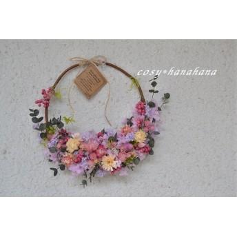 パニエの花wreath