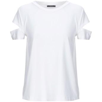 《セール開催中》HANITA レディース T シャツ ホワイト S レーヨン 60% / ナイロン 31% / ポリウレタン 9%