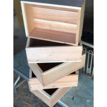 オリジナル木箱 4個組