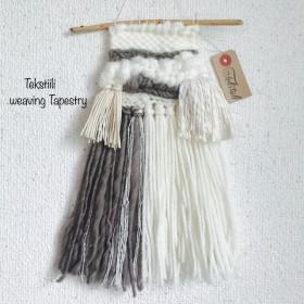 ナチュラルウィービングタペストリー・weaving・壁飾り
