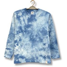 ムラ染め ロングスリーブ Tシャツ:LTS-038