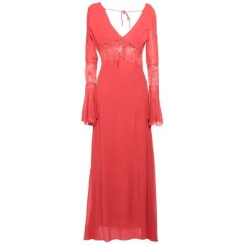 《セール開催中》PINK MEMORIES レディース ロングワンピース&ドレス レッド 38 レーヨン 100% / コットン / ナイロン