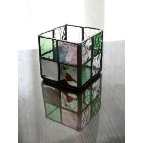 ステンドグラスのボックス