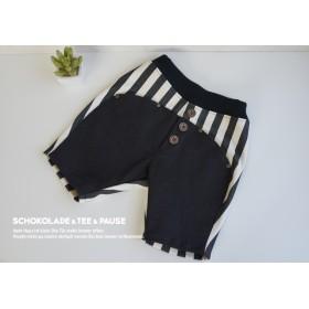 SALE size90☆YOYOパンツ黒ボーダー
