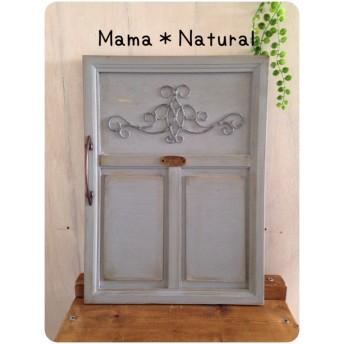 妻飾り付きミニチュアドア