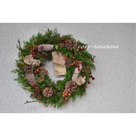 冬の森クリスマスwreath