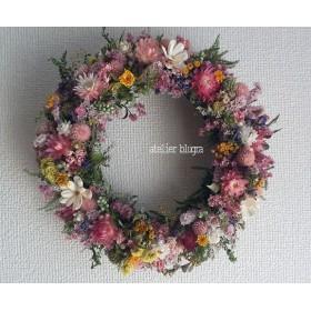 八ヶ岳〜春待ち色小花のWreath