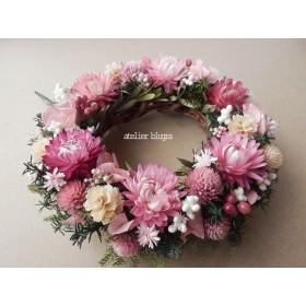 atelier blugra八ヶ岳〜(定形外郵便発送)小花のMiniWreath13
