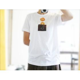 ポッケTシャツベーグルくるみパン・オーガニックコットン