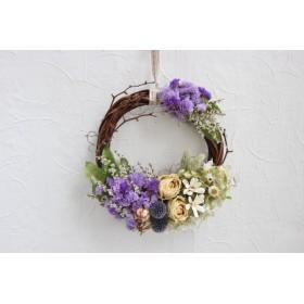 fascinating color wreath