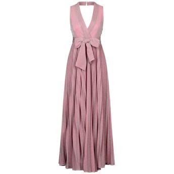 《セール開催中》AMUSE レディース ロングワンピース&ドレス ピンク M シルク 80% / ポリエステル 20%