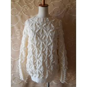 ポコポコいっぱいのセーター