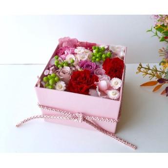 ご結婚お祝いやプレゼント フラワーボックス P