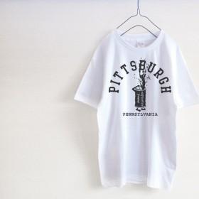 PITTSBURGH モノクロ Tシャツ