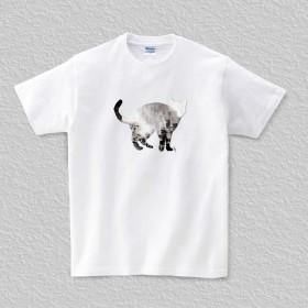 Tシャツ Cat003 (TRUSS ヘビーウェイトTシャツで)