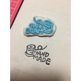 『handmade』。。消しゴムはんこ