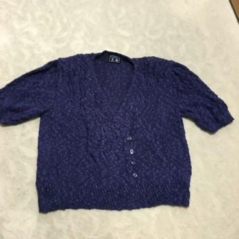 手編みのセーター(サマーヤーン)