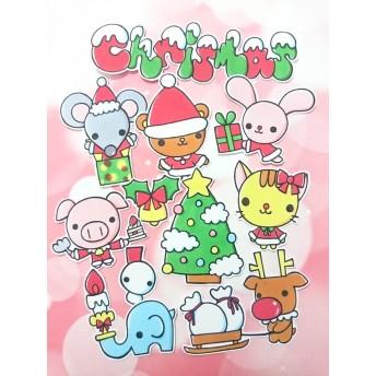 アルバム飾り(アニマルクリスマス)