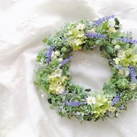 Prairie lavender ラベンダーの草原リース