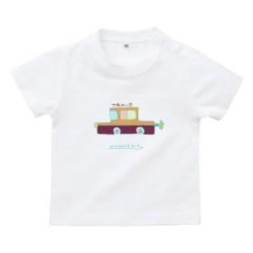 ★名入れTベビー&キッズシャツ★オリジナルキャラクラッシックカー