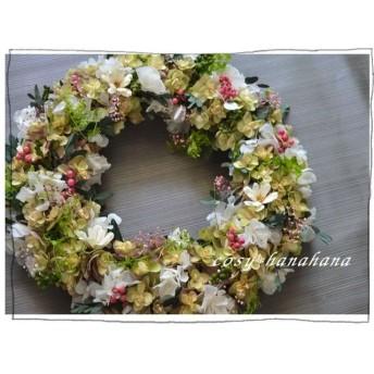 wreath「summer garden」