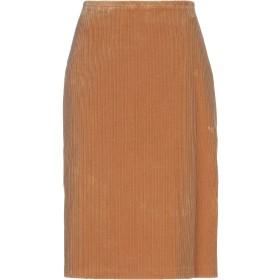《セール開催中》PAUL & JOE SISTER レディース ひざ丈スカート キャメル 34 コットン 98% / ポリウレタン 2%