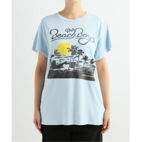 AP STUDIO 【MADE WORN/メイドウォーン】The Beach Boys サックスブルー B 36