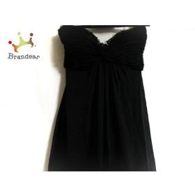 タダシ TADASHI ドレス サイズ2 M レディース 美品 黒 ビーズ 新着 20191009