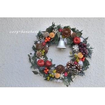 フルーツのクリスマスwreath
