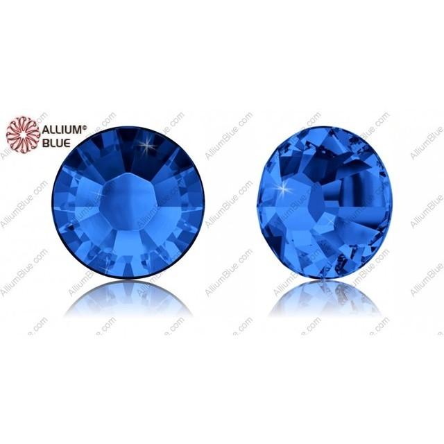 【スワロフスキー#2038】10粒 XILION Rose ラインストーン ホットフィックス SS8 サファイア (206) 裏面シルバーフォイル