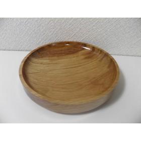 木の器 コナラの平皿14㎝