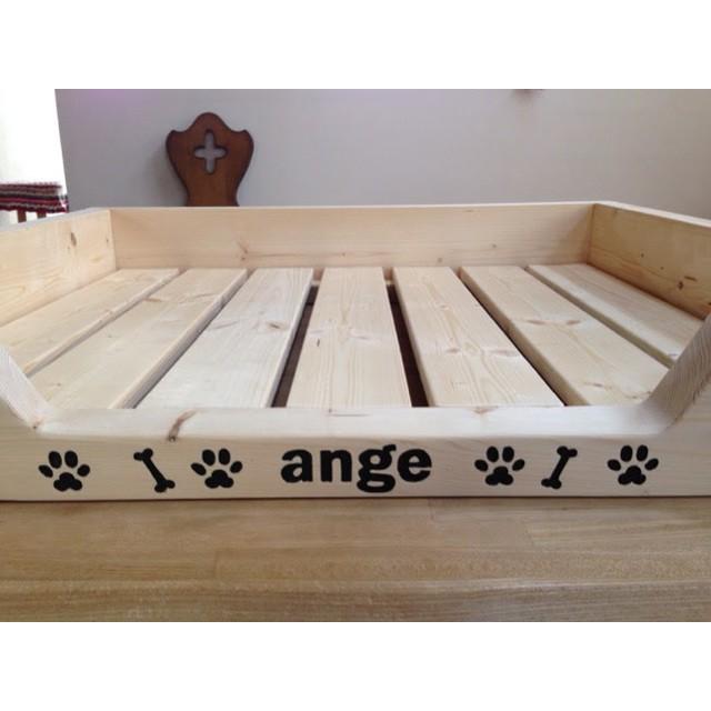 【受注製作】ペット用木製ベッド/無色脚なし