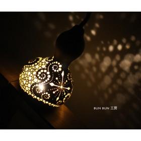 Xmas ひょうたんlamp-ミニlamp LED電池式タイプ
