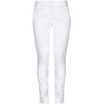 《セール開催中》HANITA レディース パンツ ホワイト 38 コットン 97% / ポリウレタン 3%
