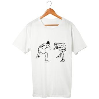 バスケ#1 Tシャツ 5.6oz