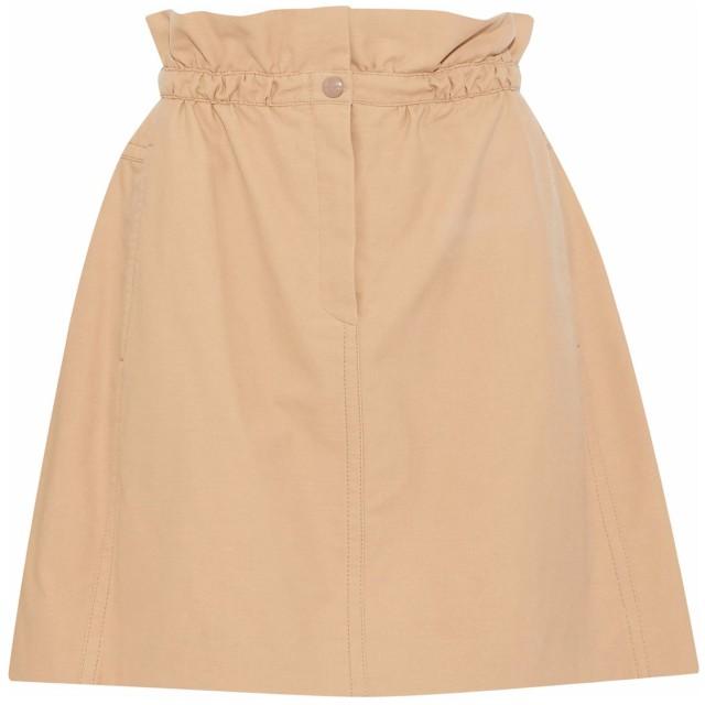 《セール開催中》NINA RICCI レディース ひざ丈スカート サンド 34 コットン 100% / シルク