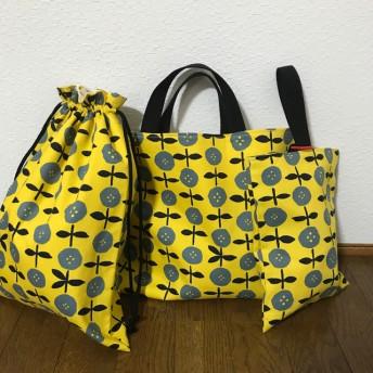 【再販】★入園、入学★レッスンバッグ、お着替え袋、シューズ袋セット