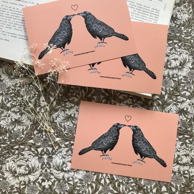 Lovers Crow ポストカード3枚セット