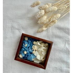 something blue リングピロー wood box