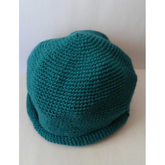 緑色☆どんぐりニット帽子