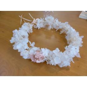 プリザーブドフラワー花冠