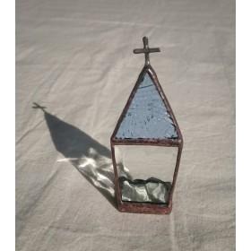 小さな教会(ブルーグレー)