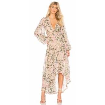 ロココ ROCOCO SAND レディース ワンピース ワンピース・ドレス x REVOLVE Flora Maxi Dress Nude Floral