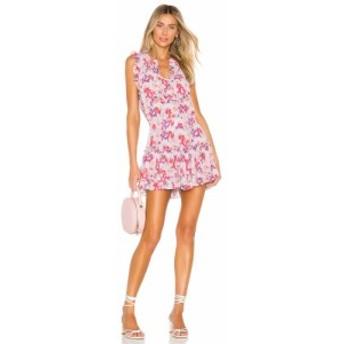ミサロサンゼルス MISA Los Angeles レディース ワンピース ワンピース・ドレス X REVOLVE Aila Dress Lilac Floral