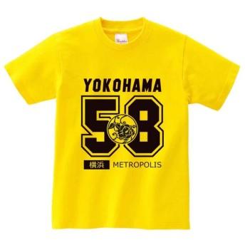 半袖Tシャツ 【横浜・YOKOHAMA・カレッジロゴ】 by FOX REPUBLIC