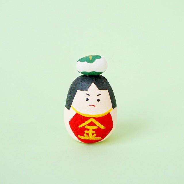 丸こけし*金太郎(柏餅添え) B