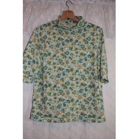 6分袖Tシャツ*ネック