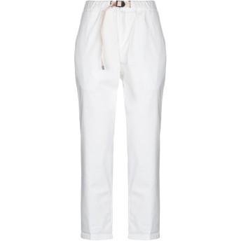《セール開催中》WHITE SAND 88 レディース パンツ ホワイト 0 コットン 98% / ポリウレタン 2%