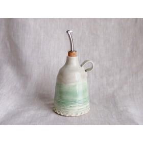 オイル/ビネガー・ボトル(緑と灰色)